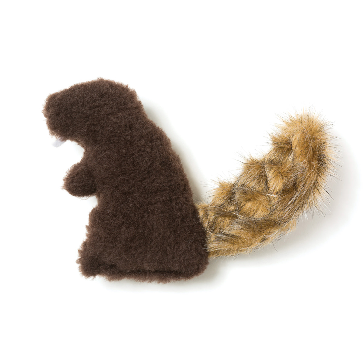 dam beaver dog toy by west paw chocolate with same day shipping