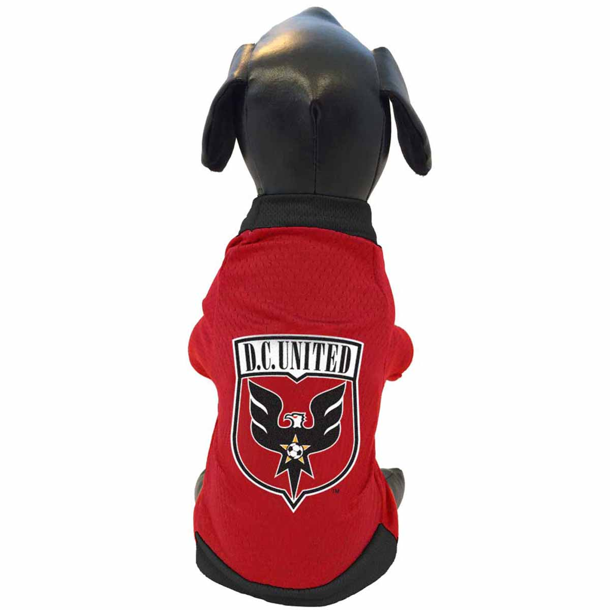 Dc united athletic mesh dog jersey with same day shipping for P kitchen dc united