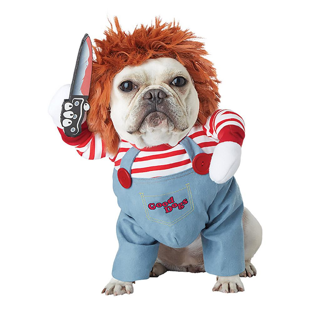 Deadly Doll Halloween Dog Costume