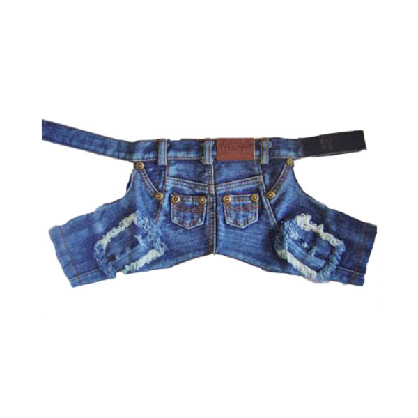Denim Dog Pants