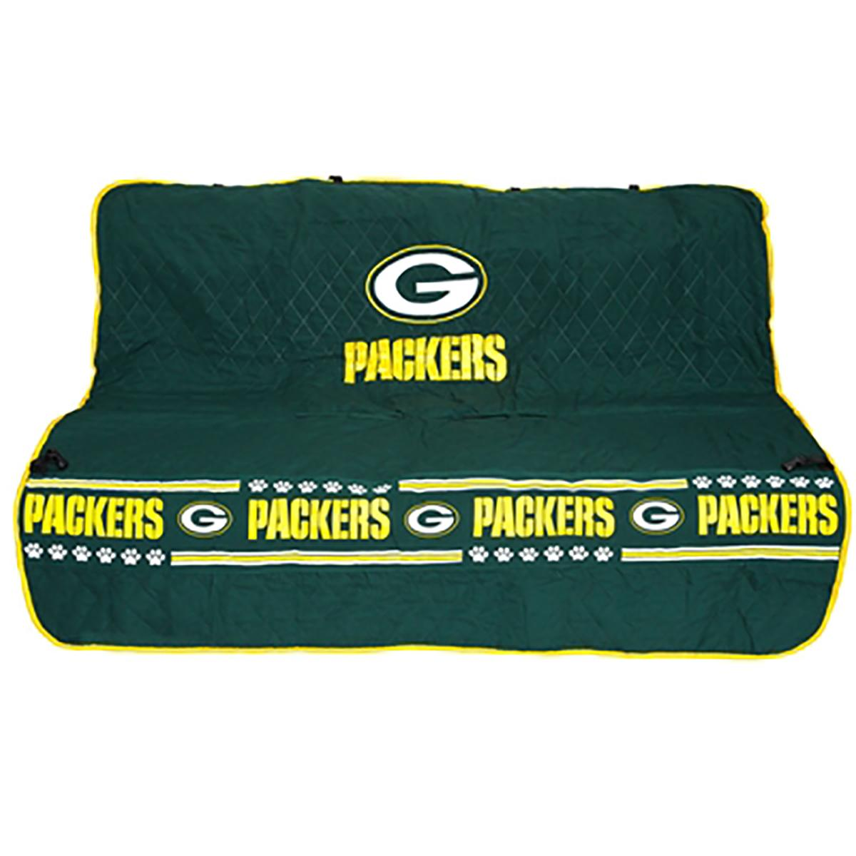 Green Bay Packers Dog Car Seat Cover
