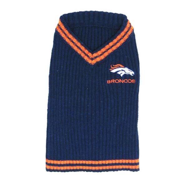 Denver Broncos Dog Sweater