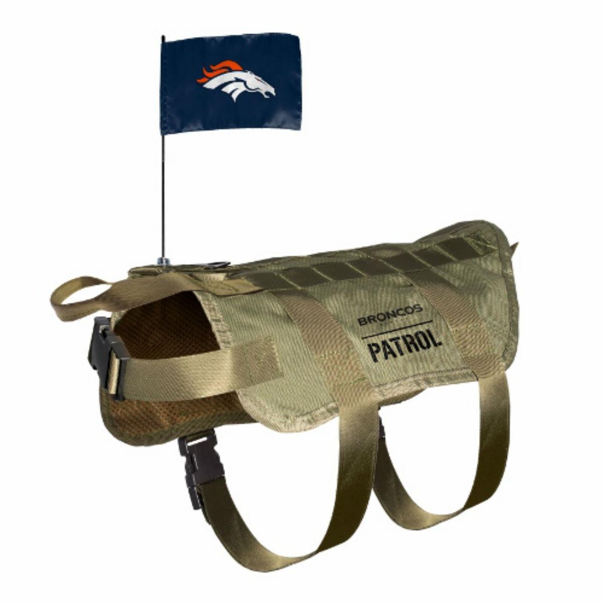 Denver Broncos Tactical Vest Dog Harness