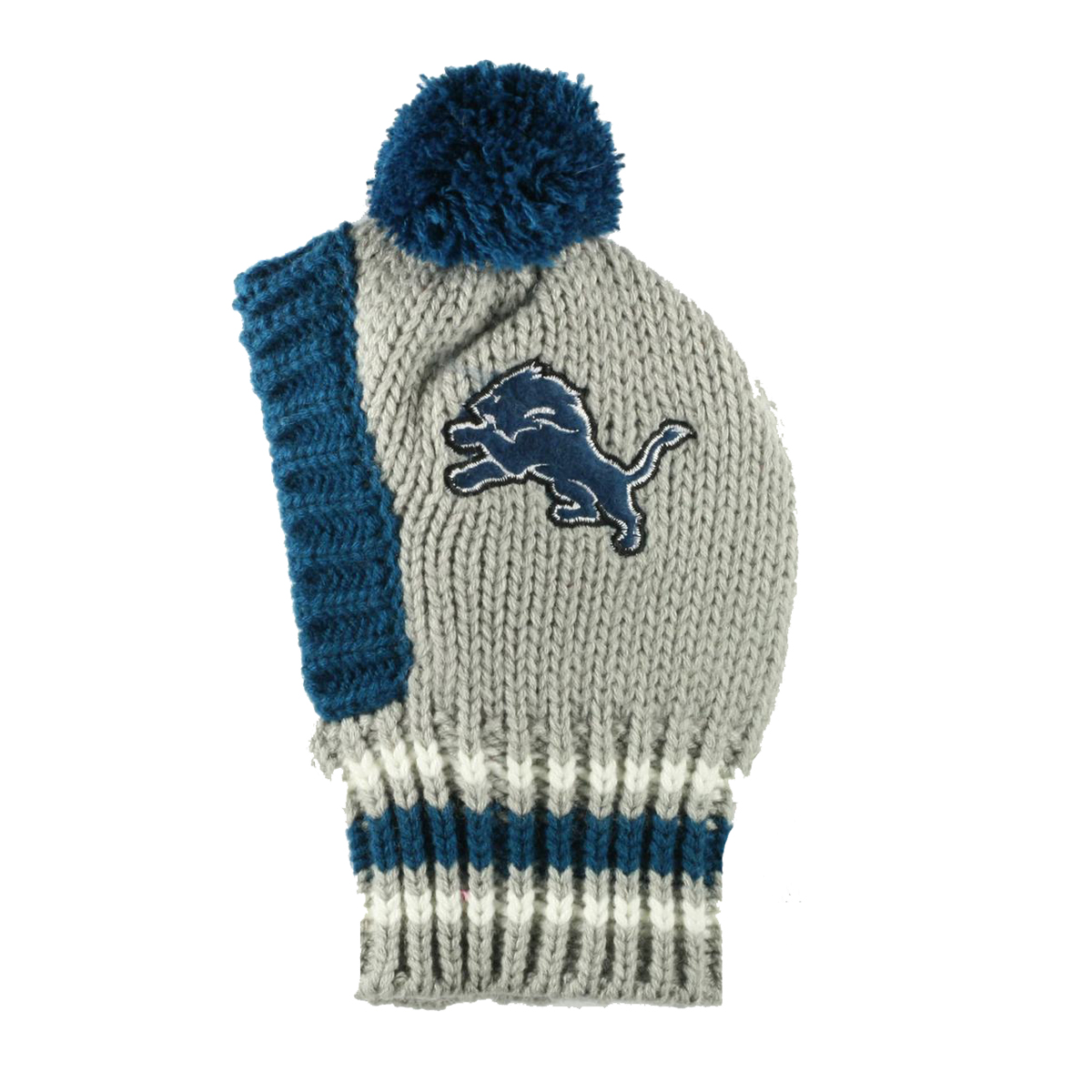 Detroit Lions Knit Dog Hat  7264624a729