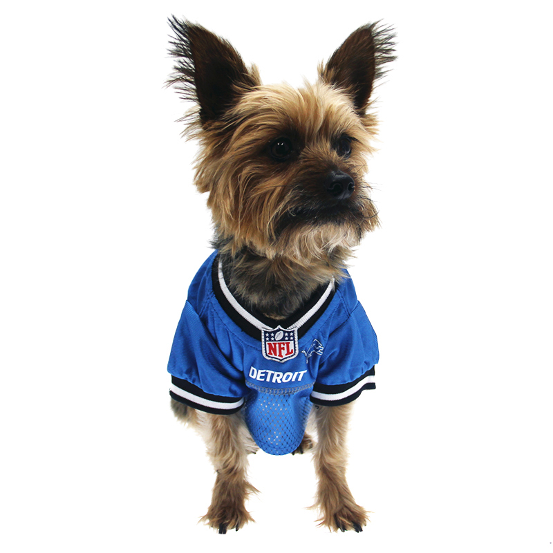 Detroit Lions Officially Licensed Dog Jersey ...  6d8b7a04f