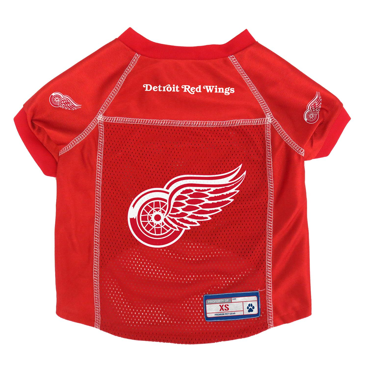 finest selection 4fbcd 7f753 Detroit Red Wings Dog Jersey