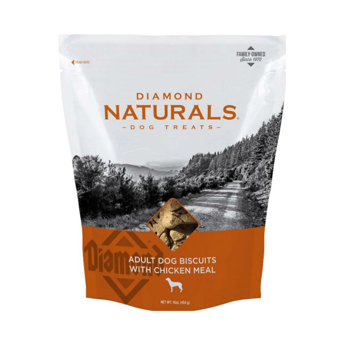 Diamond Naturals Adult Dog Biscuits - Chicken
