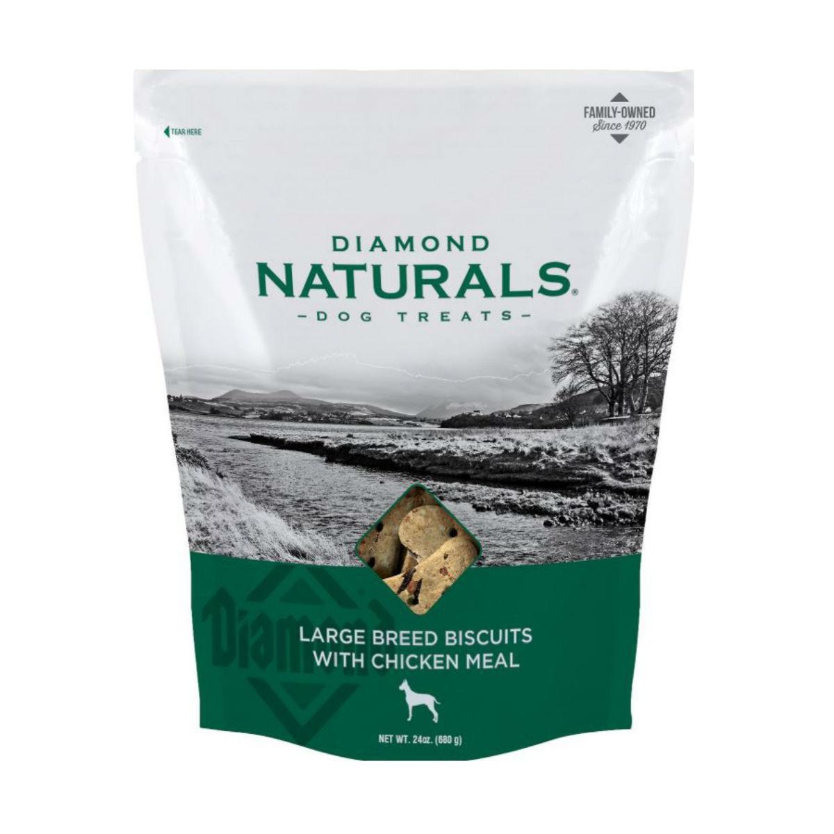 Diamond Naturals Large Breed Dog Biscuits - Chicken and Glucosamine