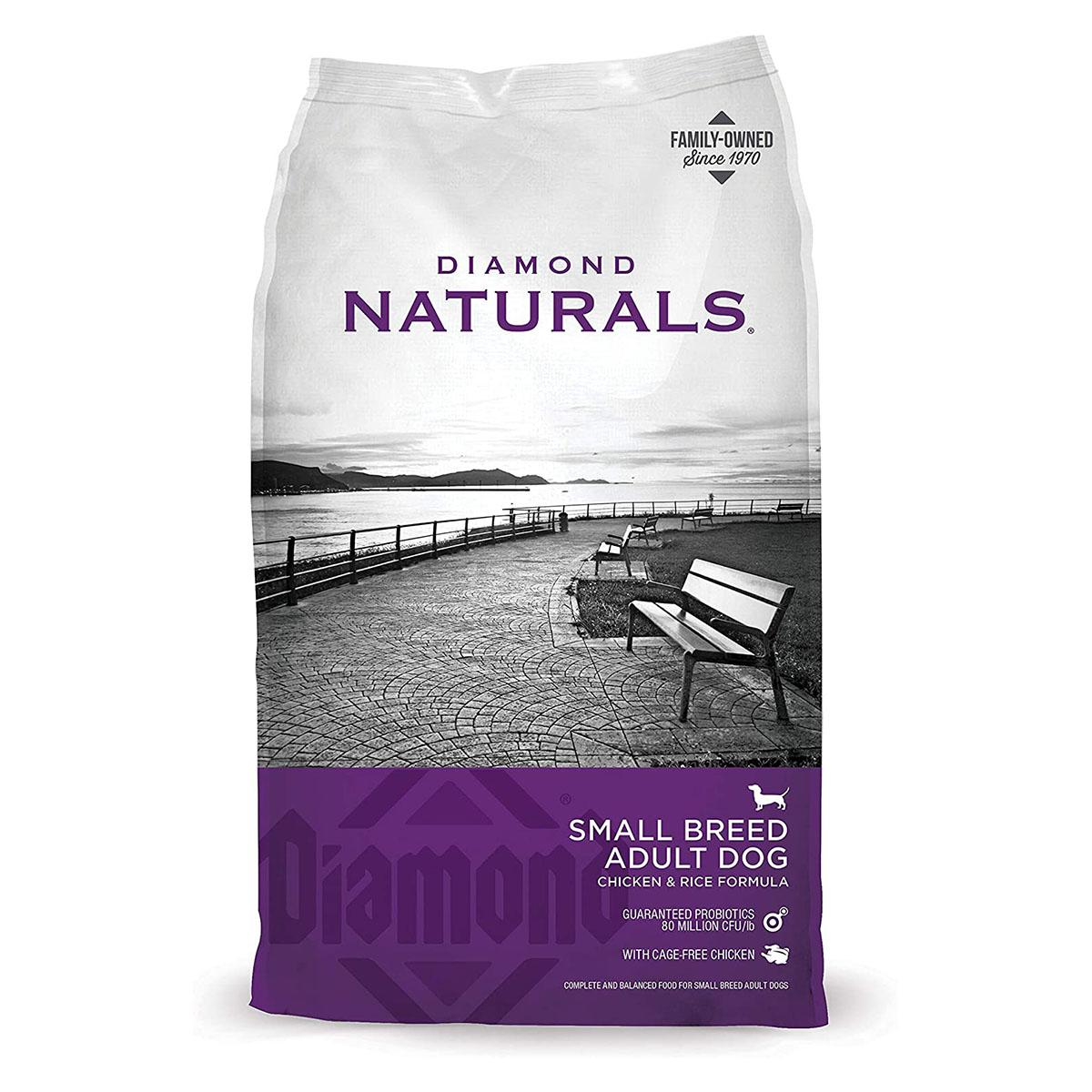 Diamond Naturals Small Breed Adult Dog Food - Chicken and Rice