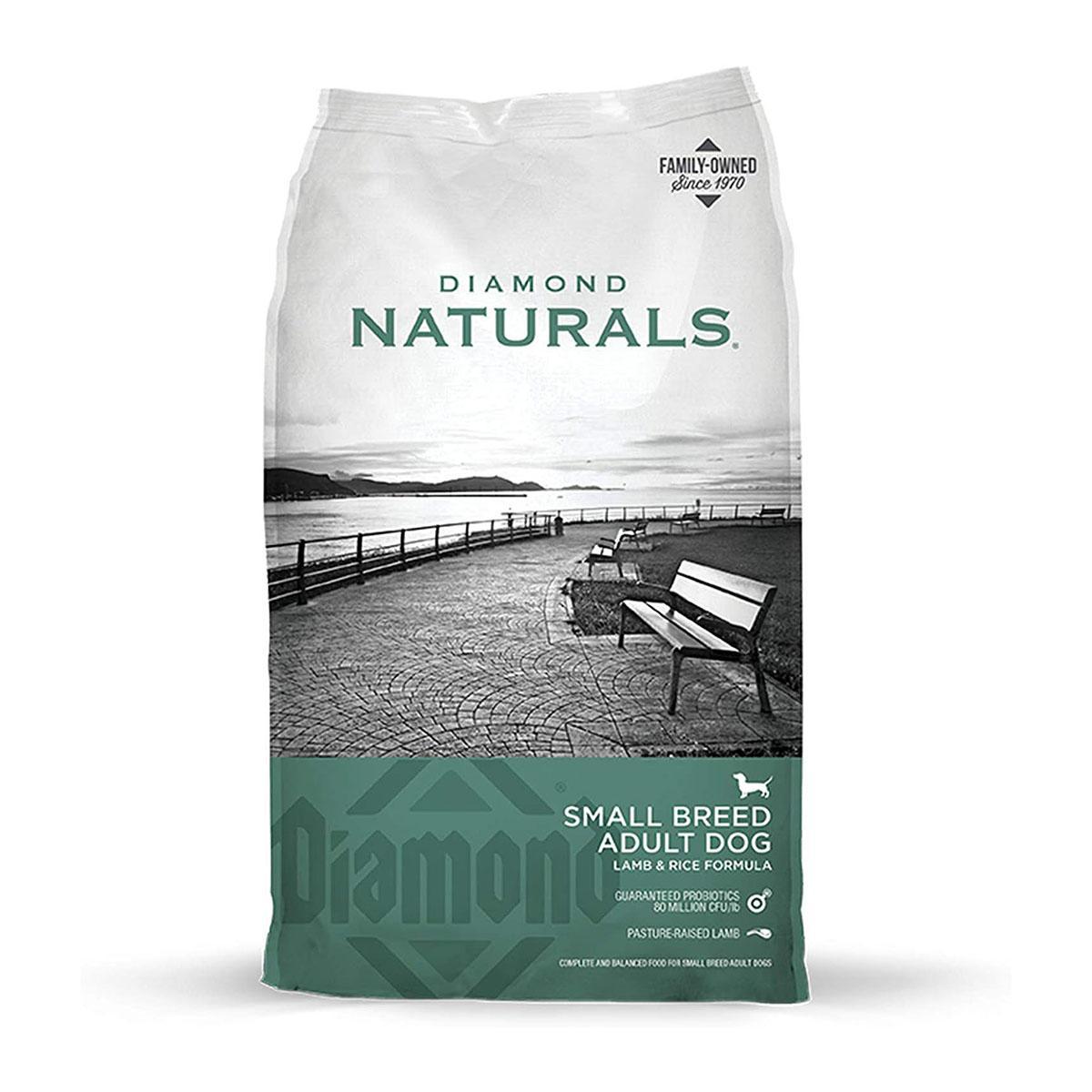 Diamond Naturals Small Breed Adult Dog Food - Lamb and Rice