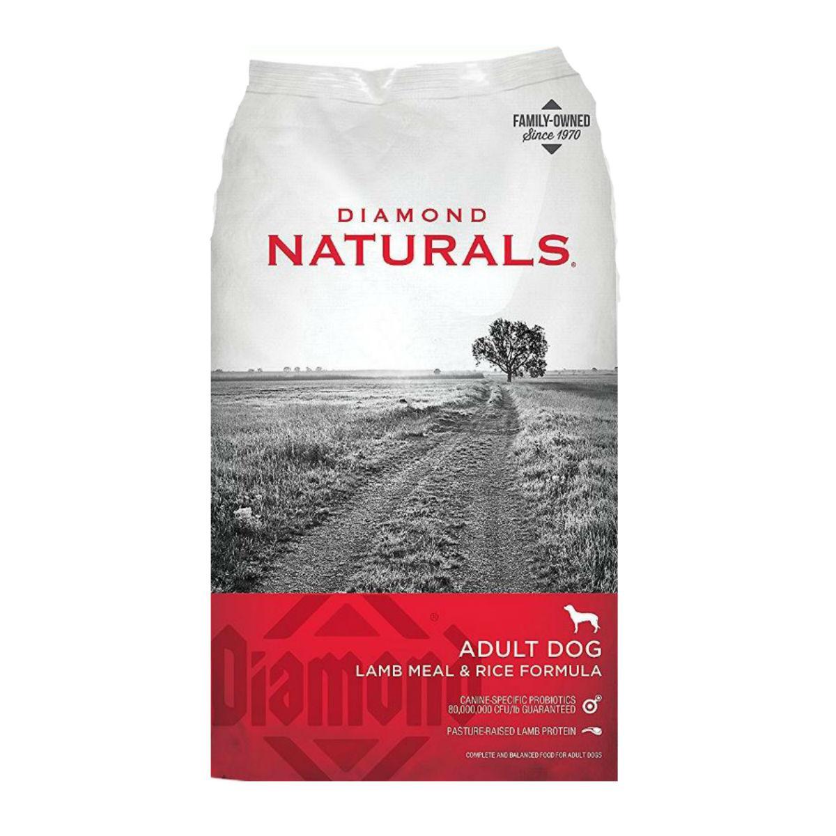 Diamond Naturals Adult Dog Food - Lamb and Rice
