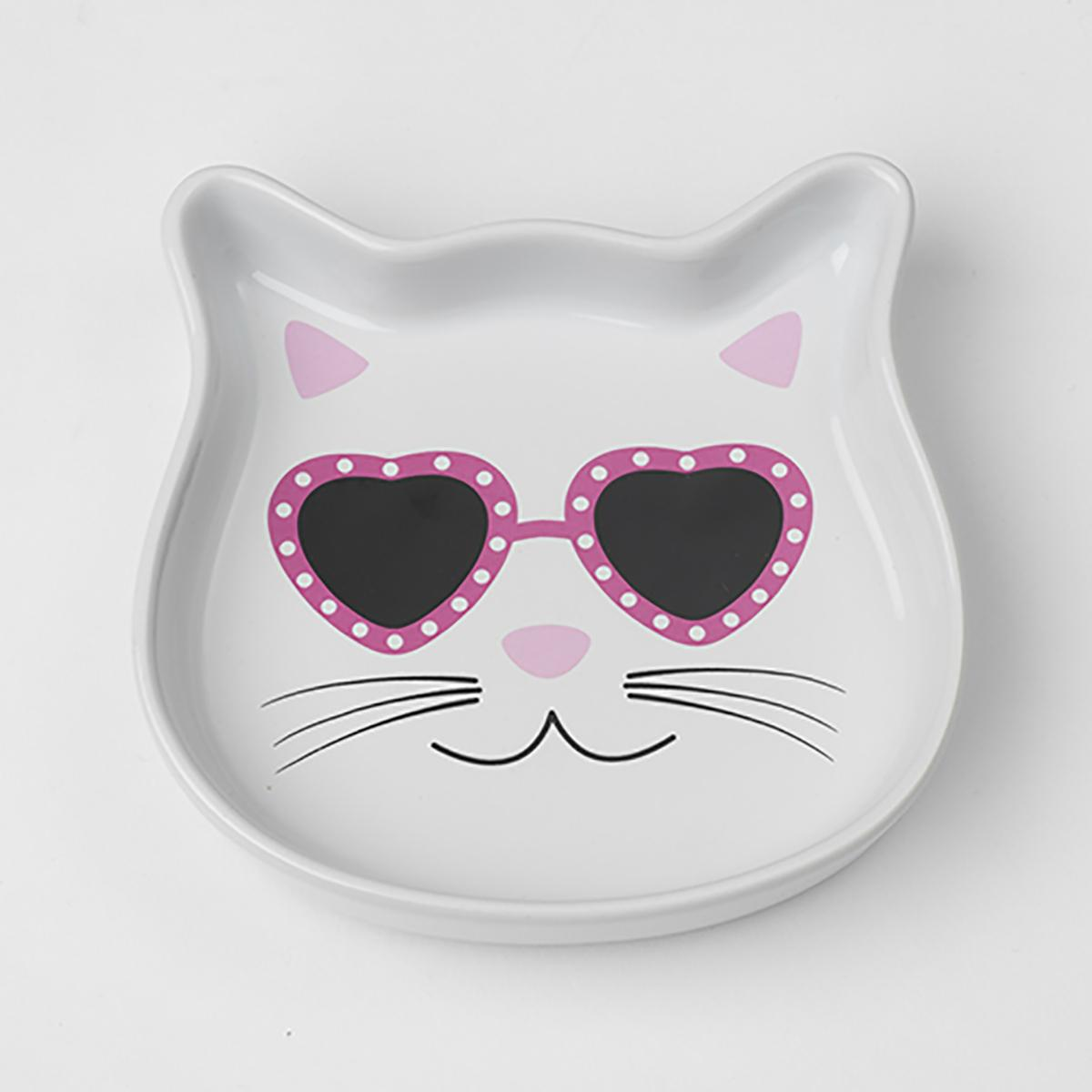 Diva Kitty Cat Saucer