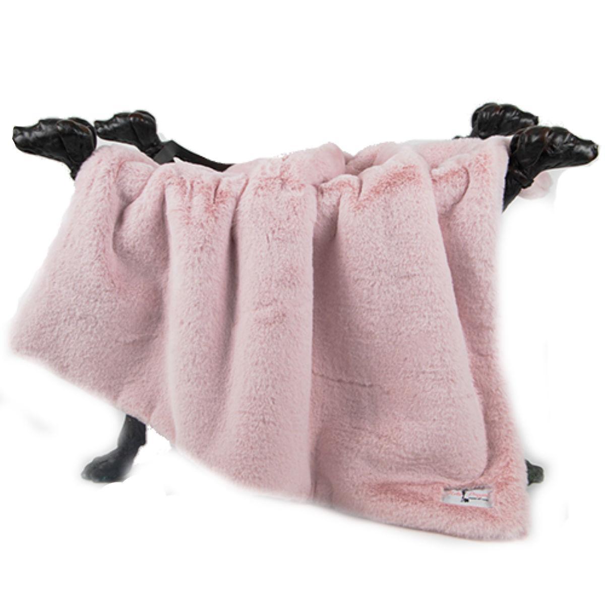Divine Plus Dog Blanket by Hello Doggie - Blush