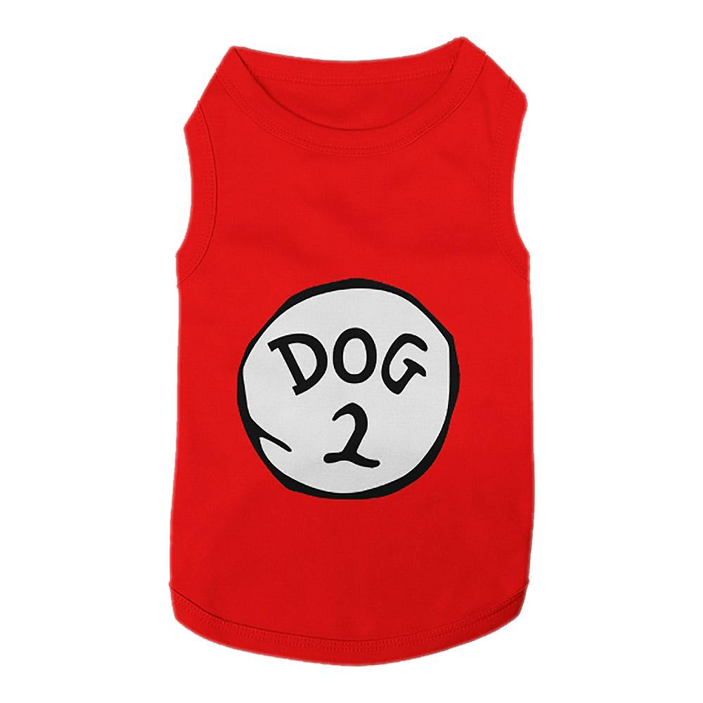 Dog 2 Dog Tank by Parisian Pet - Red
