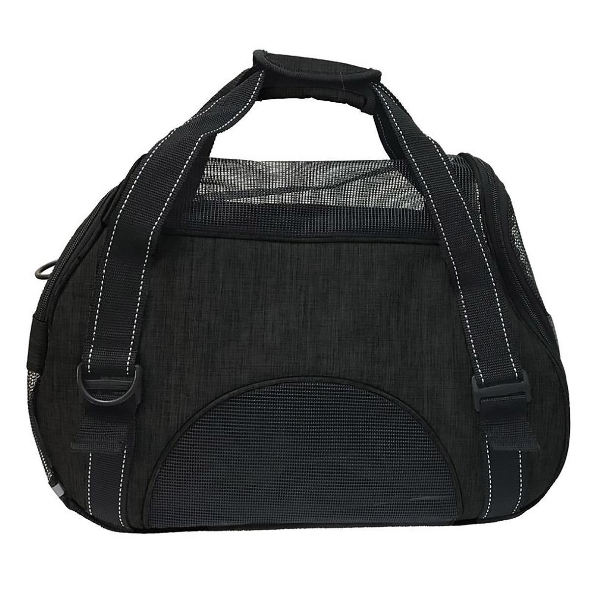 Pet Carrier Bag by Dogline - Black