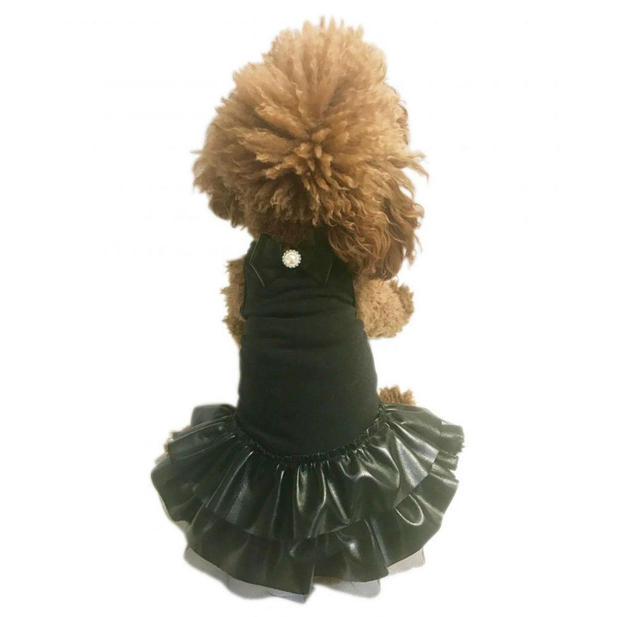 The Dog Squad's Sweet Coco Dog Dress - Black
