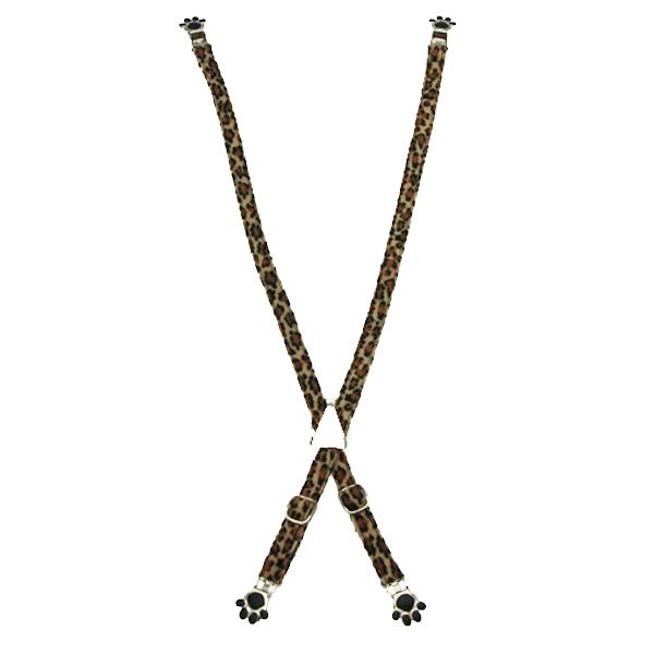 Dog Suspenders - Leopard