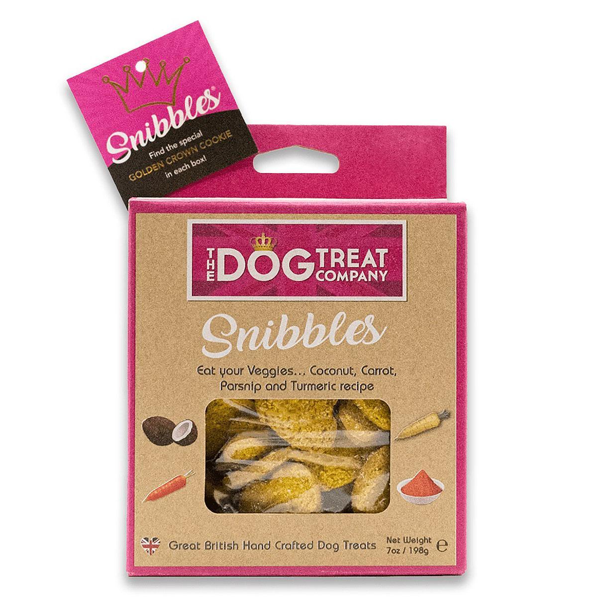 The Dog Treat Company Snibbles Dog Treats - Coconut, Carrot, Parsnip & Turmeric Recipe