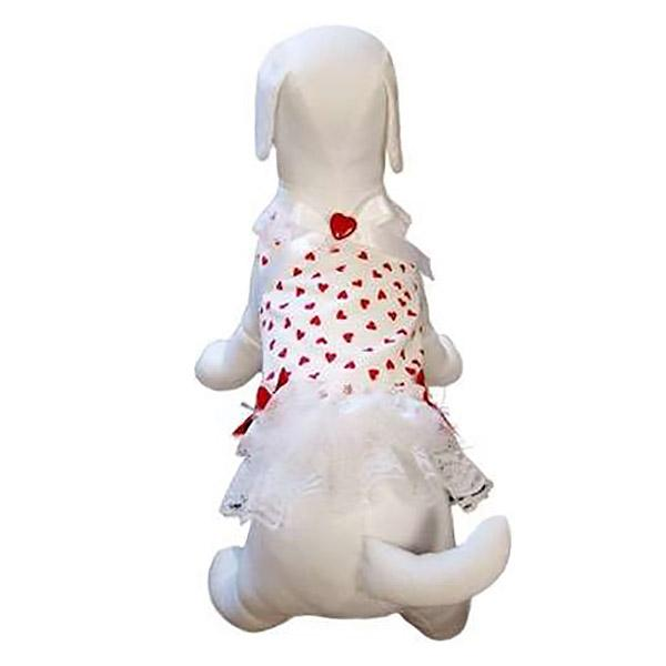My Little Valentine Dog Dress by Cha-Cha Couture