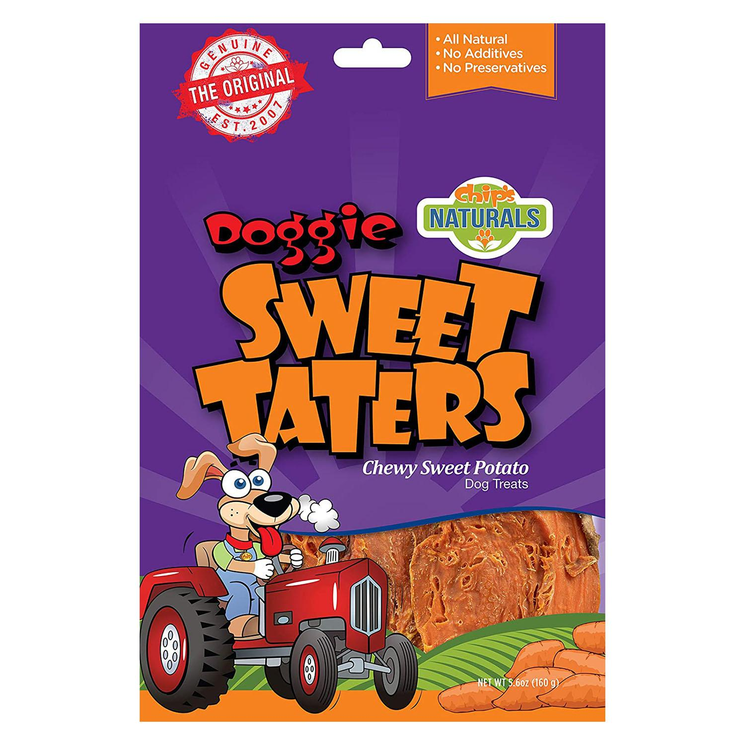Chip's Naturals Doggie Sweet Taters Dog Treats