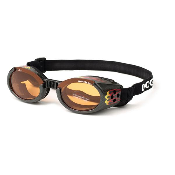 Doggles - ILS2 Racing Flames Frame with Orange Lens
