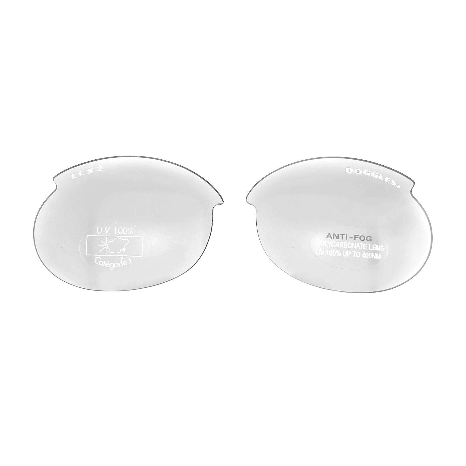 Doggles - Replacement ILS2 Lens Set - Clear