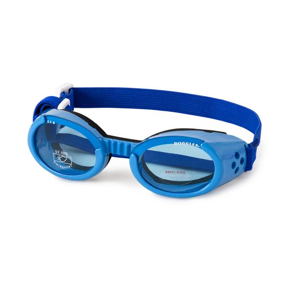 Doggles - ILS Shiny Blue Frame with Blue Lens