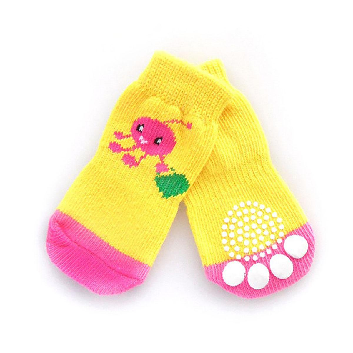 Doggy Socks - Pink Shopping Lady Bug