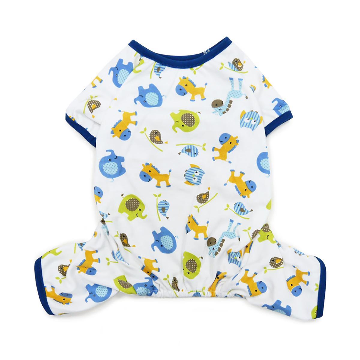 Dogo Zoo Dog Pajamas - Blue