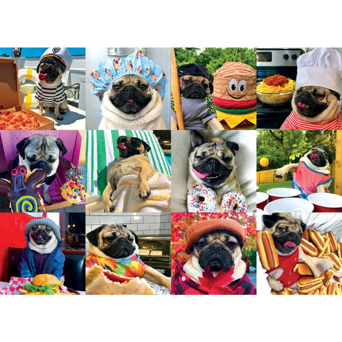 Doug the Pug Puzzle for Humans - Pug Life
