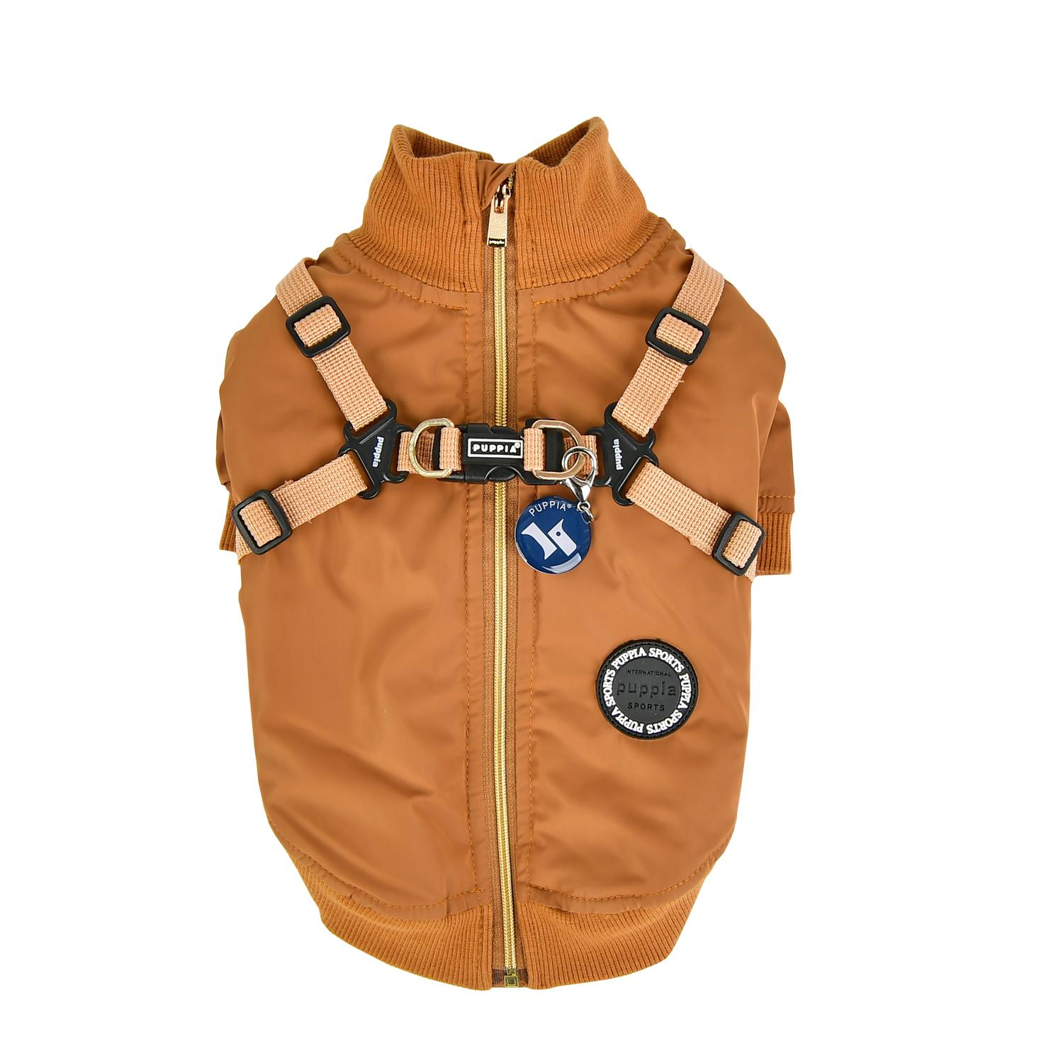 Dominic Dog Vest by Puppia - Camel
