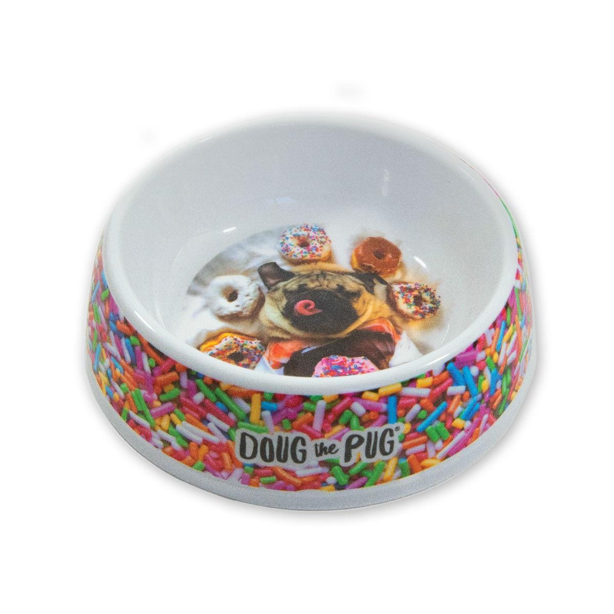 Doug the Pug Incredibowl Sprinkles Dog Bowl