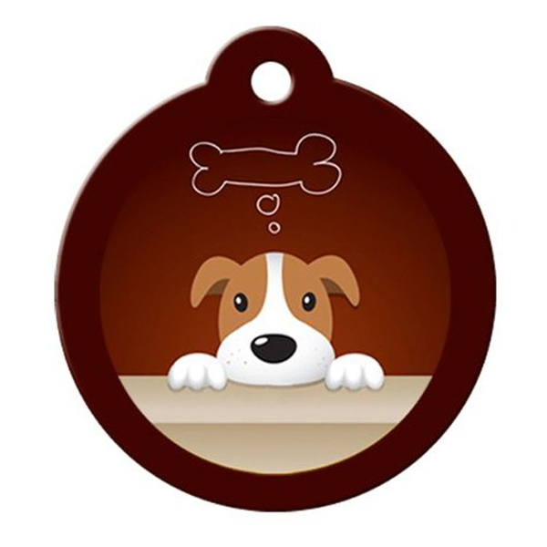 Dreamer QR Code Pet ID Tag by BarkCode