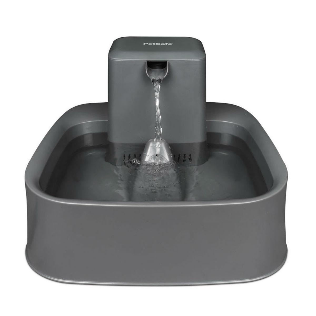 Drinkwell 2 Gallon Dog and Cat Fountain - Gray