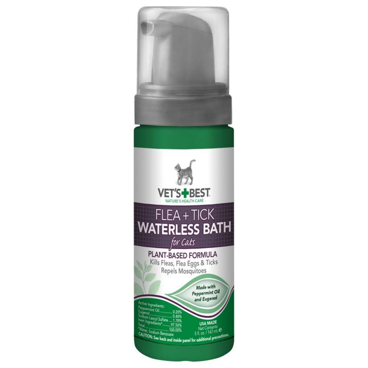 Vet's Best Flea + Tick Waterless Cat Bath