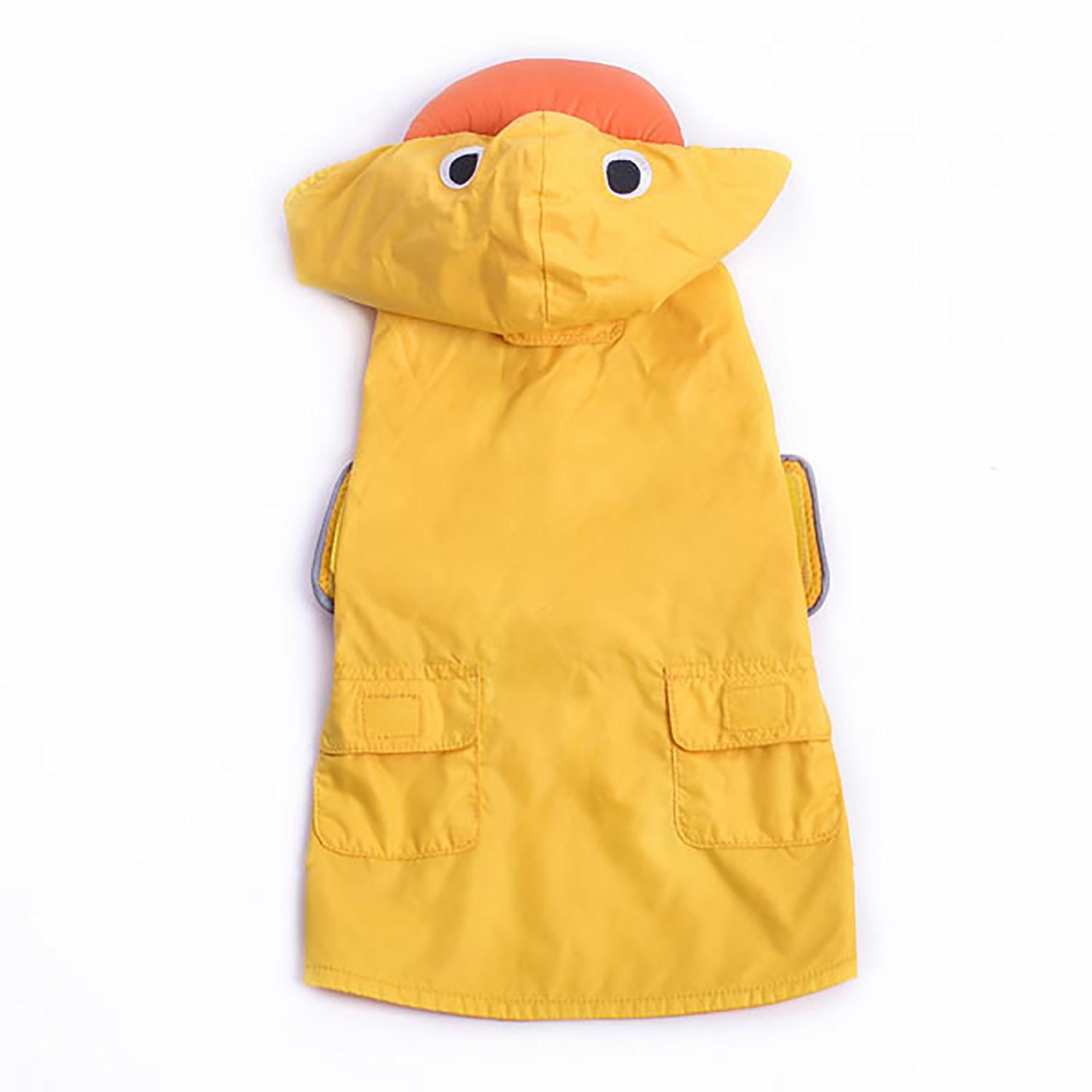Duck Dog Raincoat by Dogo - Yellow