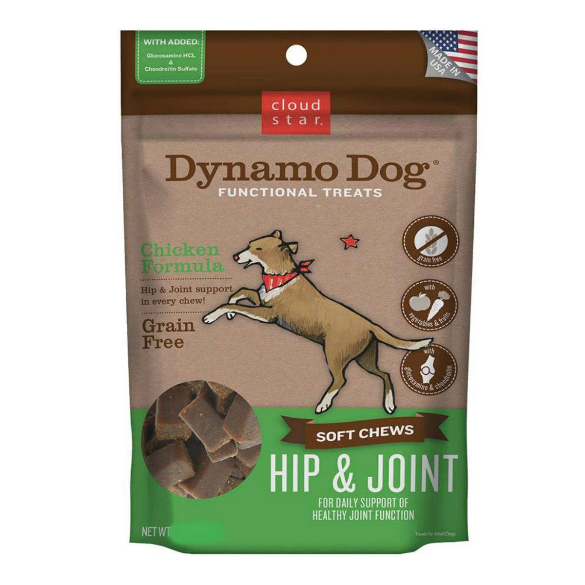 Cloud Star's Dynamo Dog Hip and Joint Dog Treats - Chicken
