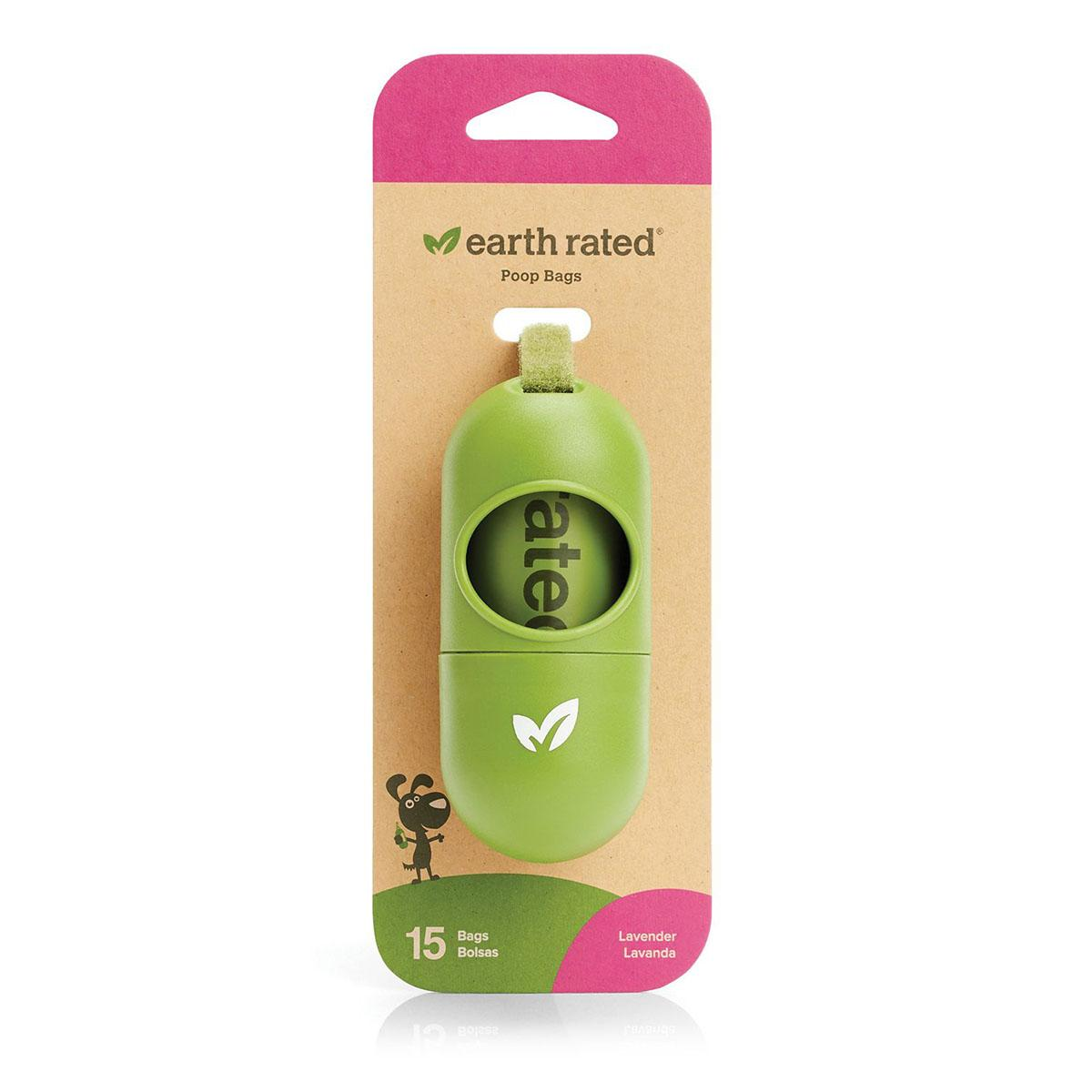 Earth Rated Dog Poop Bags and Dispenser