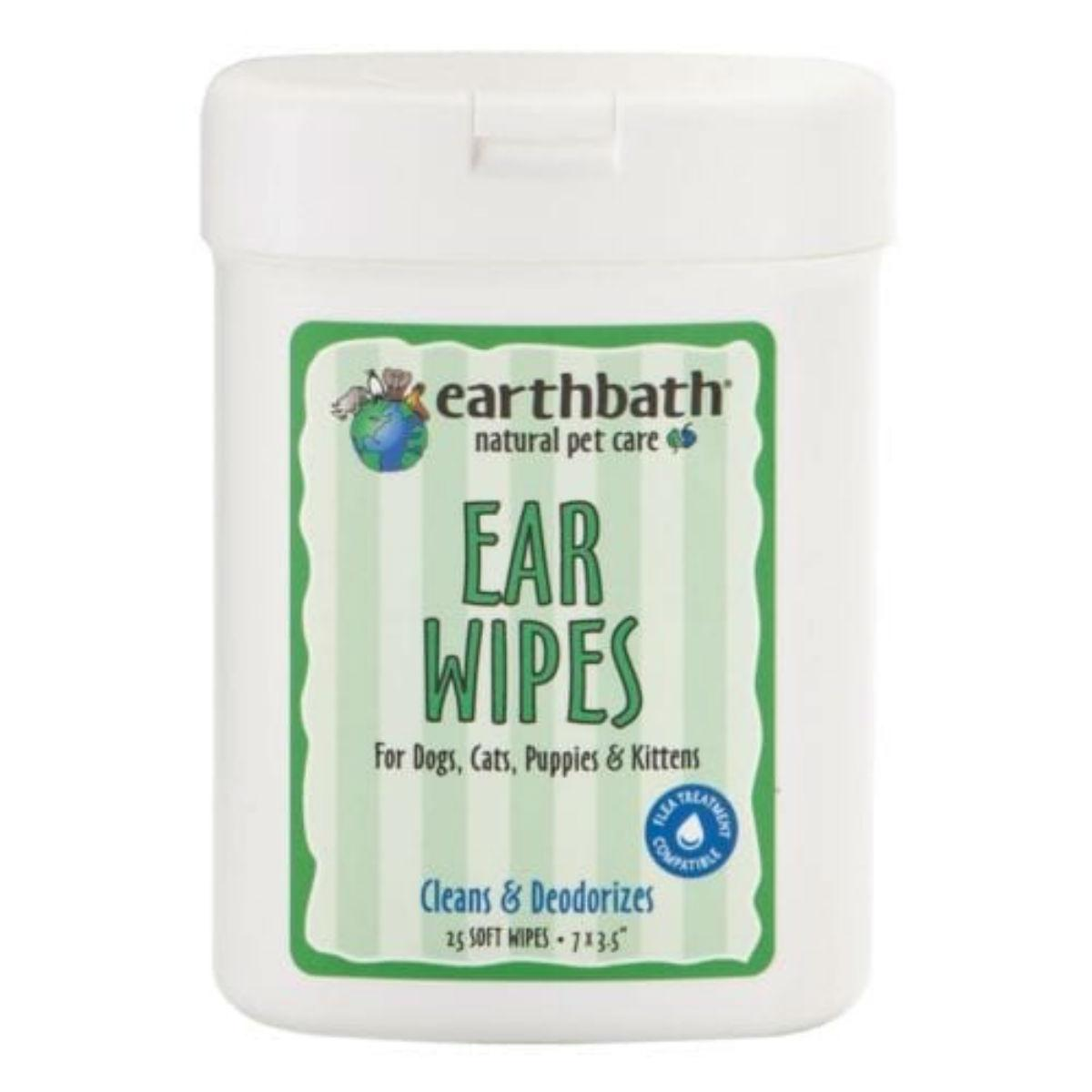 Earthbath Pet Ear Wipes