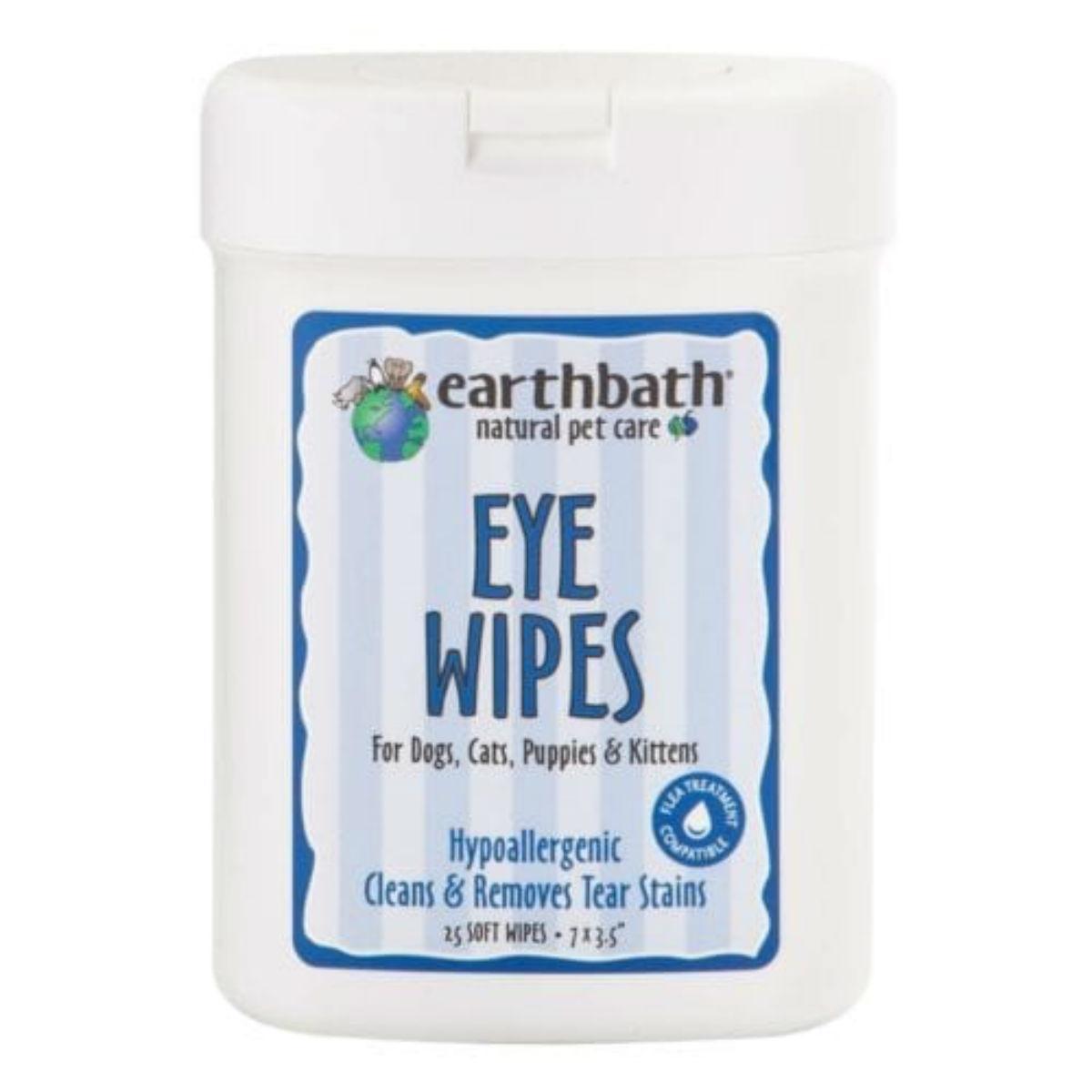 Earthbath Pet Eye Wipes