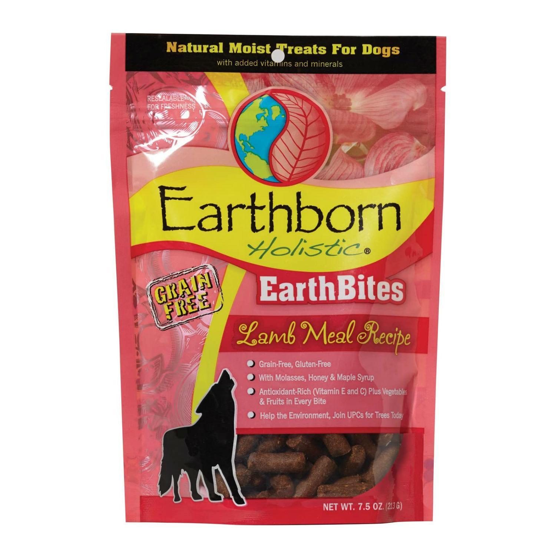 Earthborn Holistic Grain-Free EarthBites Moist Dog Treats - Lamb Meal