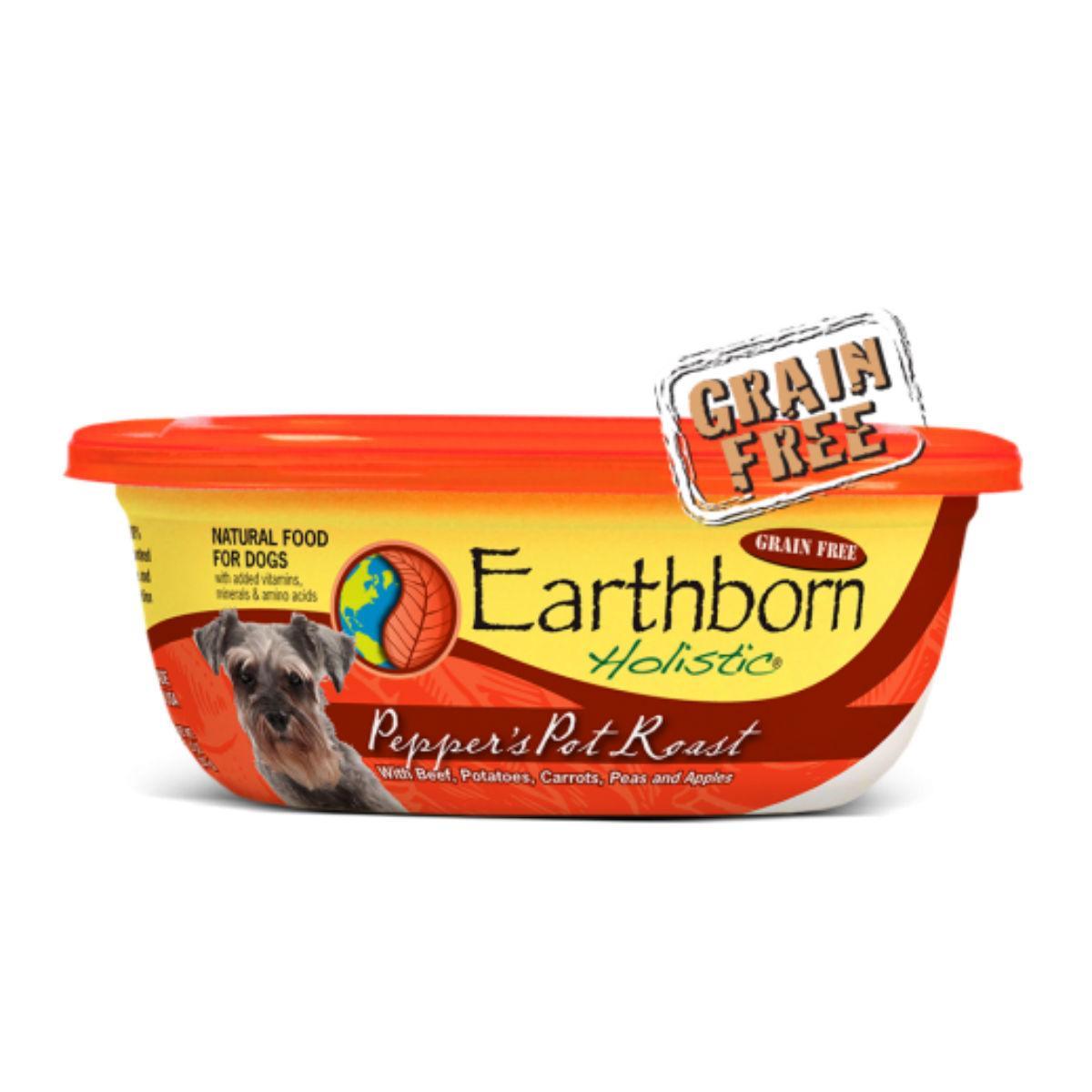 Earthborn Holistic Pepper's Pot Roast Stew Wet Dog Food