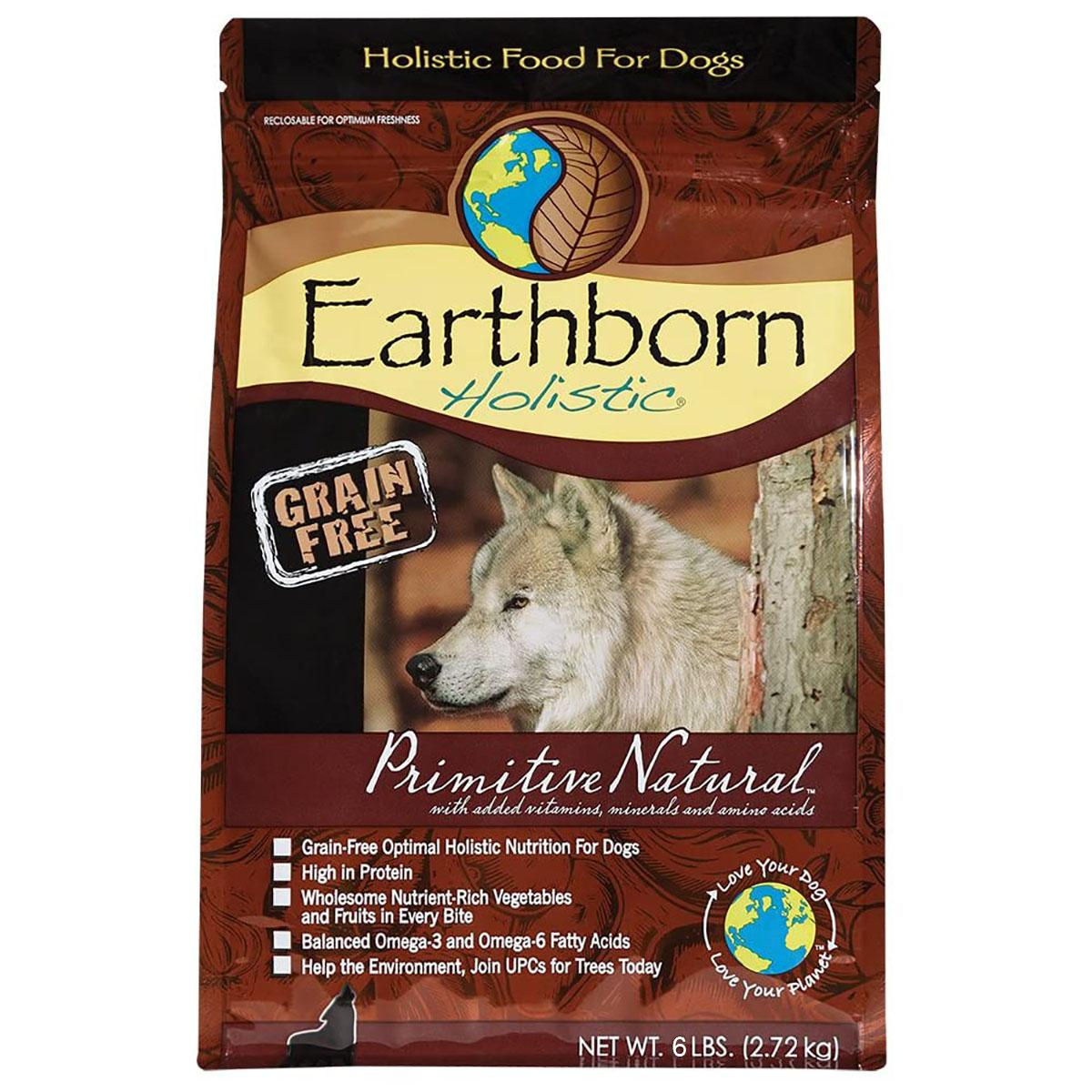 Earthborn Holistic Grain-Free Dry Dog Food - Primitive Natural