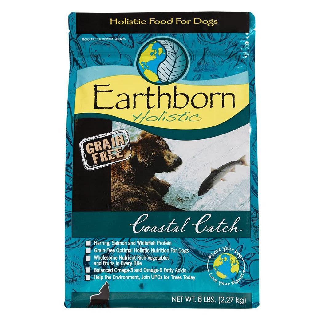 Earthborn Holistic Grain-Free Dry Dog Food - Coastal Catch