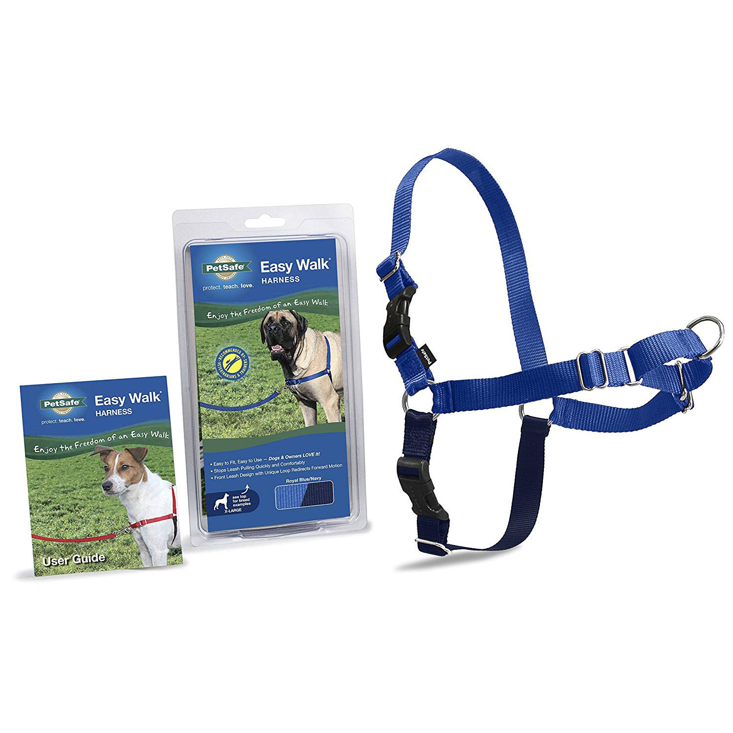 Easy Walk Nylon Harness by PetSafe - Royal Blue/Navy