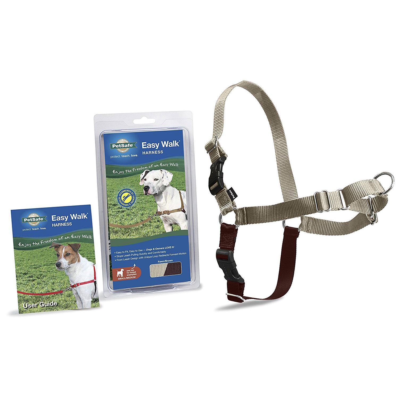 Easy Walk Nylon Harness by PetSafe - Fawn/Brown