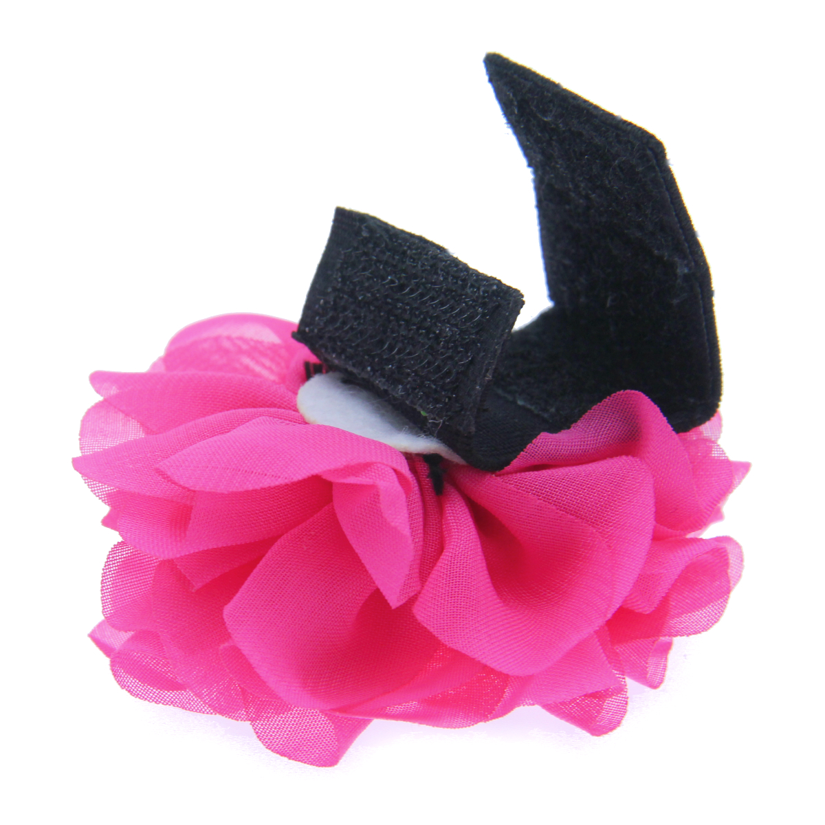 Easybow flower dog collar attachment by dogo hot pink flower easybow flower dog collar attachment by dogo hot pink flower with same day shipping baxterboo dhlflorist Choice Image