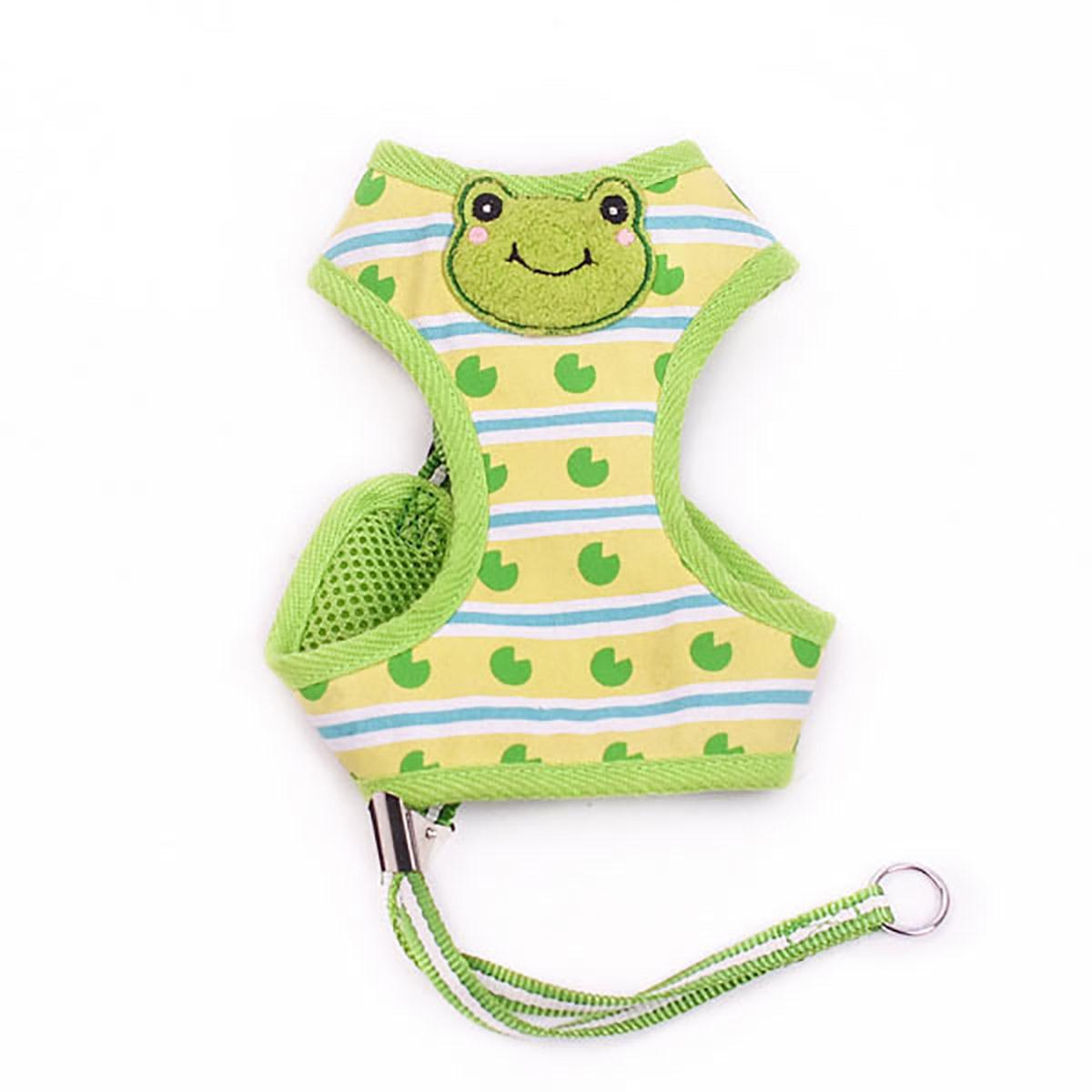 EasyGo Frog Dog Harness by Dogo - Green