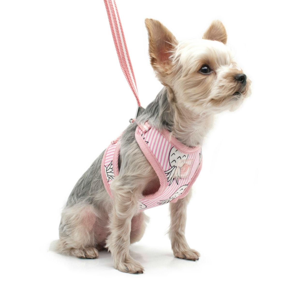 EasyGO Pineapple Dog Harness by Dogo - Pink