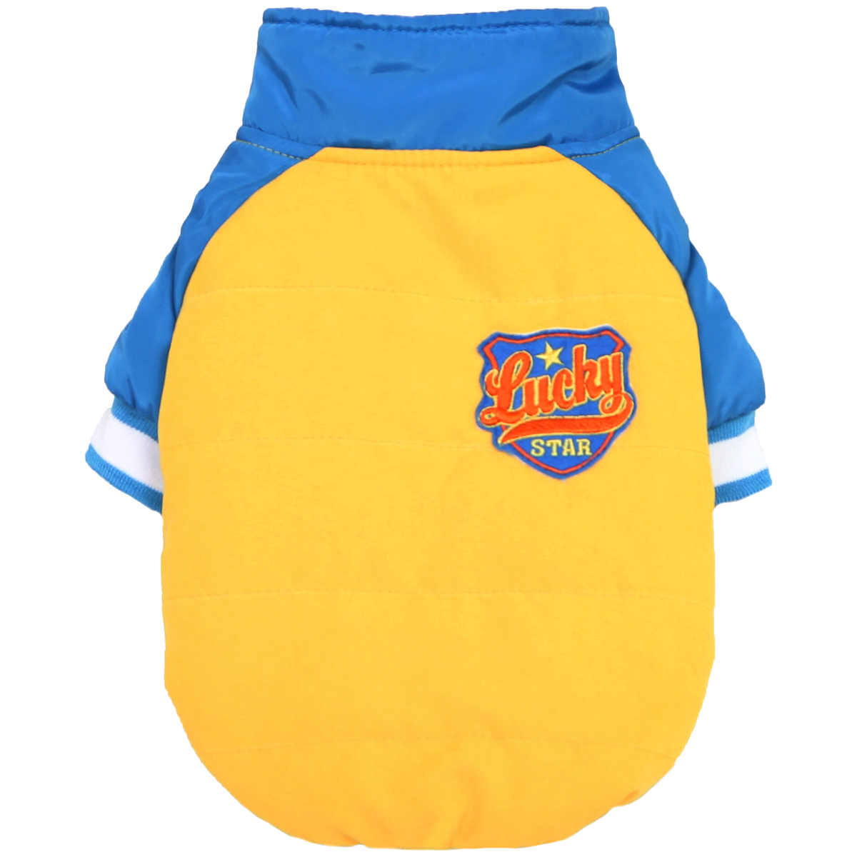Dobaz Lucky Racer Dog Jacket - Yellow